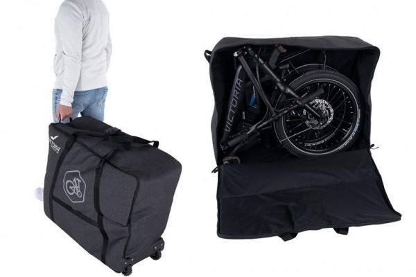 VICTORIA eFolding Transporttasche in schwarz