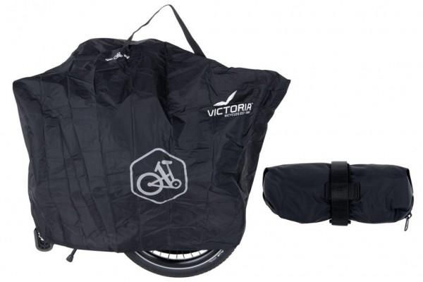 VICTORIA eFolding Überwurftasch in schwarz